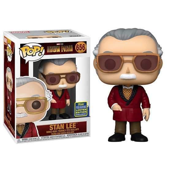Pop! Movie Iron Man Bobble-Head Vinyl Stan Lee #656