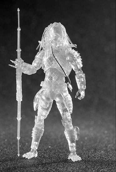 Hiya Toys Invisible City Hunter Predator 1:18 Scale 4 Inch Action Figure