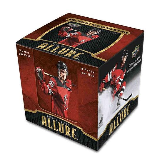 2019-20 UD Allure Hockey Hobby Box
