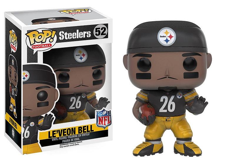Pop! Football NFL Vinyl Figure Le'Veon Bell (Pittsburgh Steelers) #52