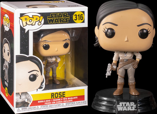Pop! Star Wars The Rise of Skywalker Vinyl Bobble-Head Rose #316