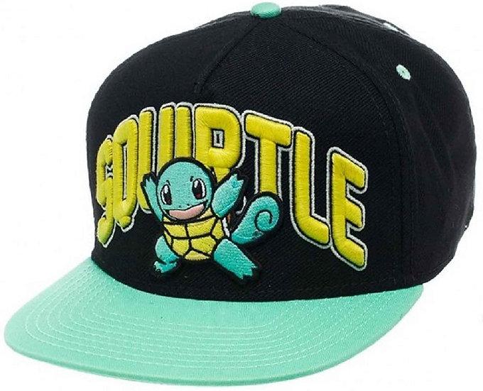 Pokemon Baseball Cap Squirtle Official Snapback Cap