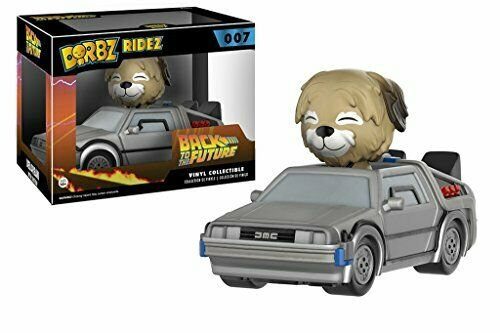 Dorbz Ridez Back To The Future Delorean With Einstein Vinyl #007