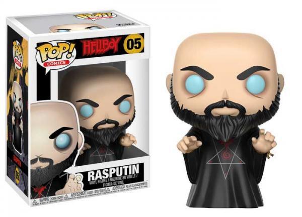 Pop! Comics Hellboy Vinyl Figure Rasputin #05