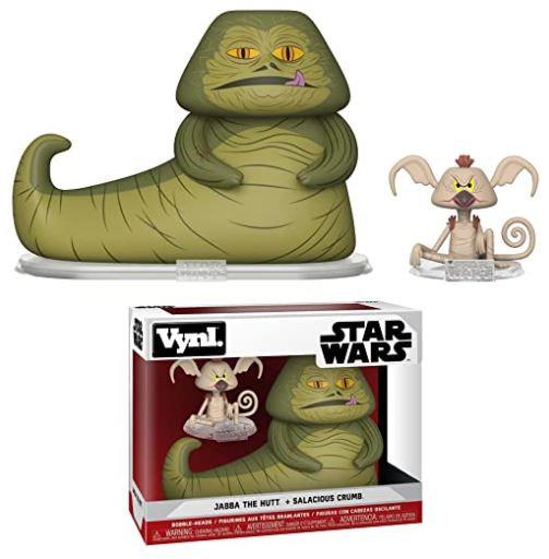 Star Wars Vynl Jabba The Hutt & Salacious Crumb