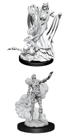 Dungeons & Dragons Nolzur's Marvelous Miniatures: LICH AND MUMMY LORD