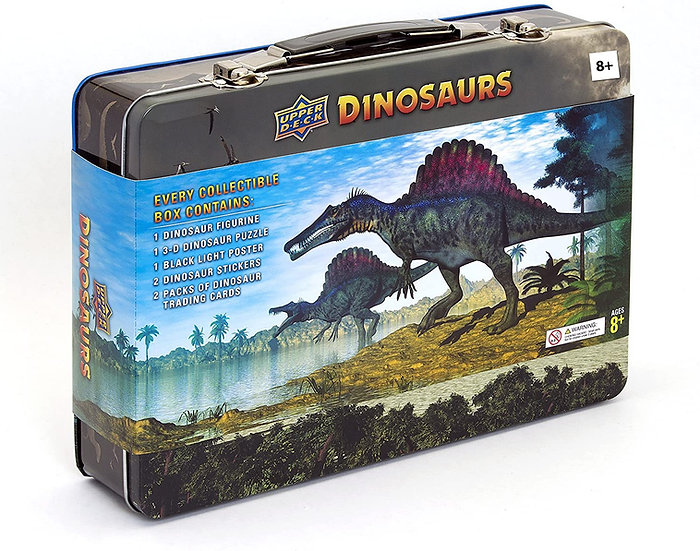 2015 Upper Deck Dinosaurs Trading Car Tin
