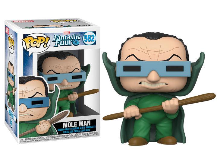 Pop! Marvel Fantastic Four Vinyl Bobble-Head Mole Man #562
