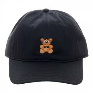 Bioworld Five Nights At Freddy's Fazbear Embroidered Baseball Cap