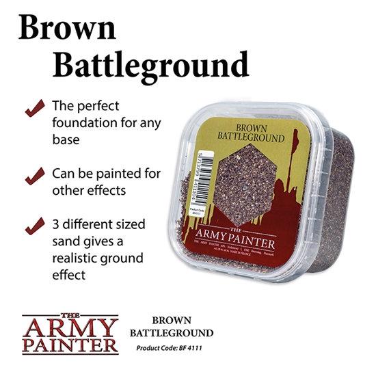 Army Painter: Battlefield: Brown Battleground Sand