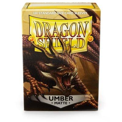 Dragon Shields: Matte Card Sleeves (100): Umber