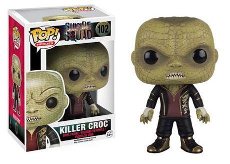 Pop! Heroes Suicide Squad Vinyl Figure Killer Croc #102 (Vaulted)