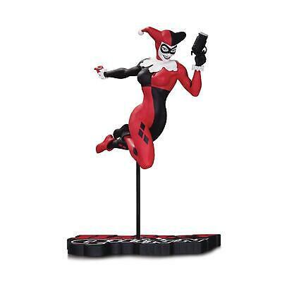Harley Quinn Red White & Black 7 Inch Statue Figure - Harley Quinn
