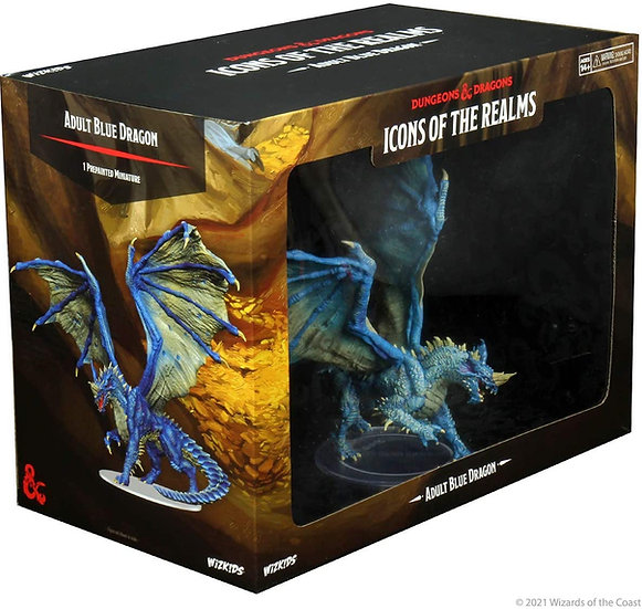 Dungeons & Dragons Icons of the Realms: Adult Blue Dragon
