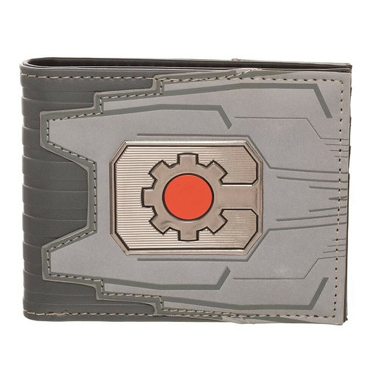 Bioworld Cyborg Suit Up Bifold Wallet