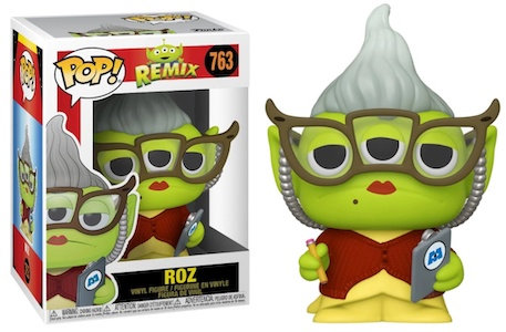 Pop! Disney Remix Vinyl Figure Roz (Alien) #763