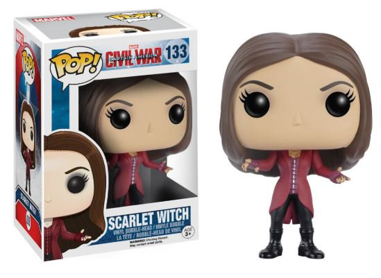 Pop! Marvel Captain America Civil War Scarlet Witch #133 (Vaulted)