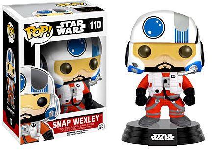 Pop! Star Wars The Force Awakens Vinyl Bobble-Head Snap Wexley #110 (Vaulted)