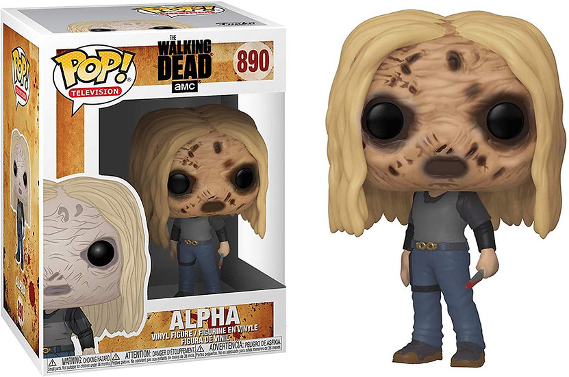 Pop! Television The Walking Dead Vinyl Figure Alpha #890