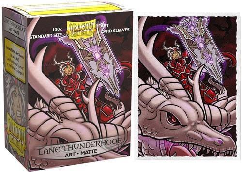 Dragon Shields: Art Matte Card Sleeves (100):Lane Thunderhoof