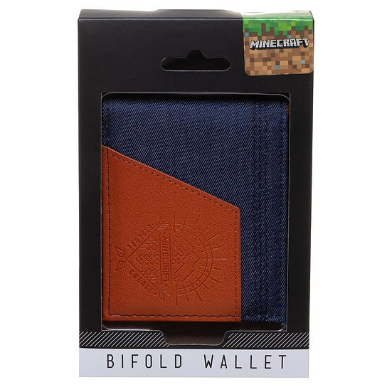 Bioworld  Minecraft Bi-Fold Wallet