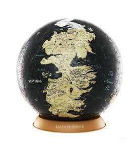 "Game Of Thrones 4D 9"" Globe Puzzle"