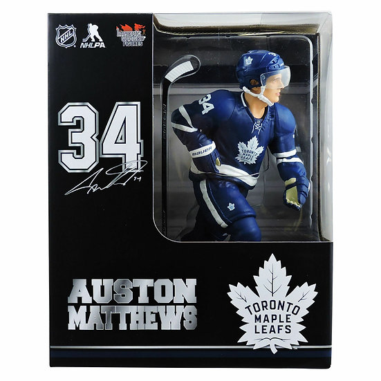 "Imports Dragon 12"" NHL Hockey Figure Auston Matthews Limited /2850"