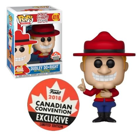 Pop! Animation Vinyl Figure Dudley Do Right #419