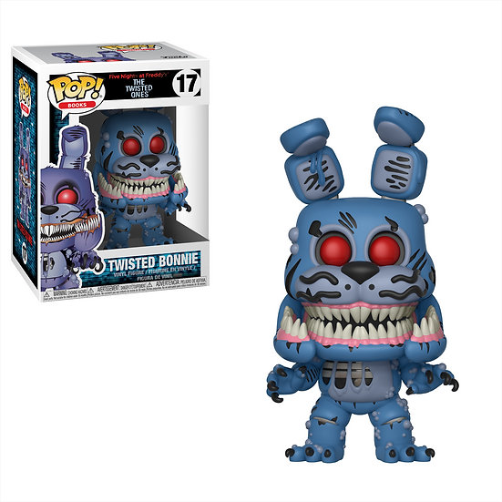 Pop! Books Five Nights at Freddy's: The Twisted Ones Vinyl Figure Bonnie #17