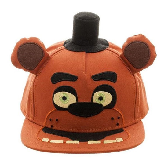 Bioworld Five Nights at Freddy's Snapback Cap With Plush Ears