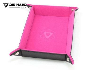 Die Hard: Folding Rectangle Tray - Pink Velvet