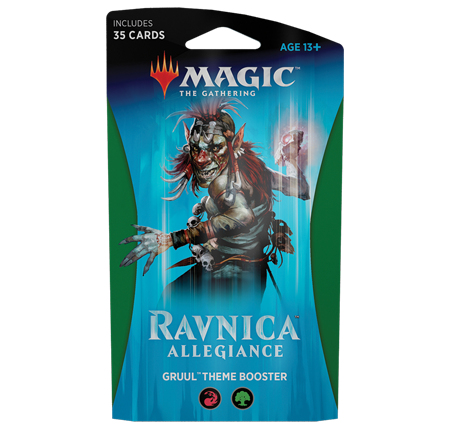 Magic the Gathering: Ravnica Allegiance: Themed Booster: GRUUL