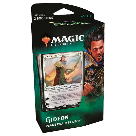 Magic The Gathering TCG War of the Spark Planeswalker Deck