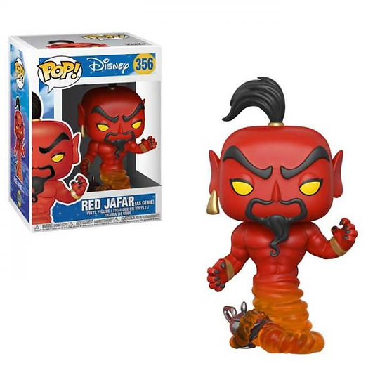 Pop! Disney Aladdin Vinyl Figure Red Jafar (as Genie) #356
