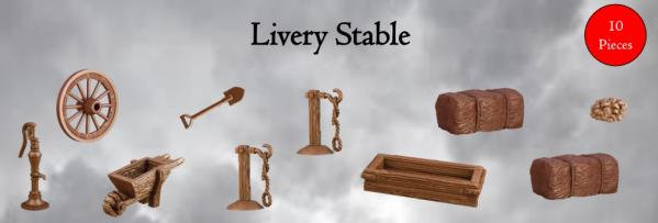 Mantic Games Terrain Crate: Livery Stable