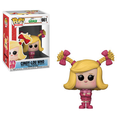 Pop! Movies The Grinch Vinyl Figure Cindy-Lou Who #661