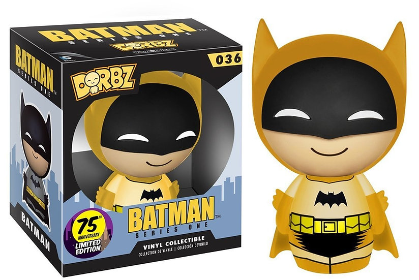Dorbz Batman Yellow 75th Anniversary Limited Series