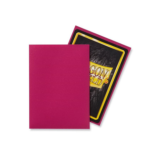 Dragon Shields: Matte Card Sleeves (100): Magenta