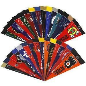 OFFICIALLY LICENSED NHL MINI PENNANT SET 30PC
