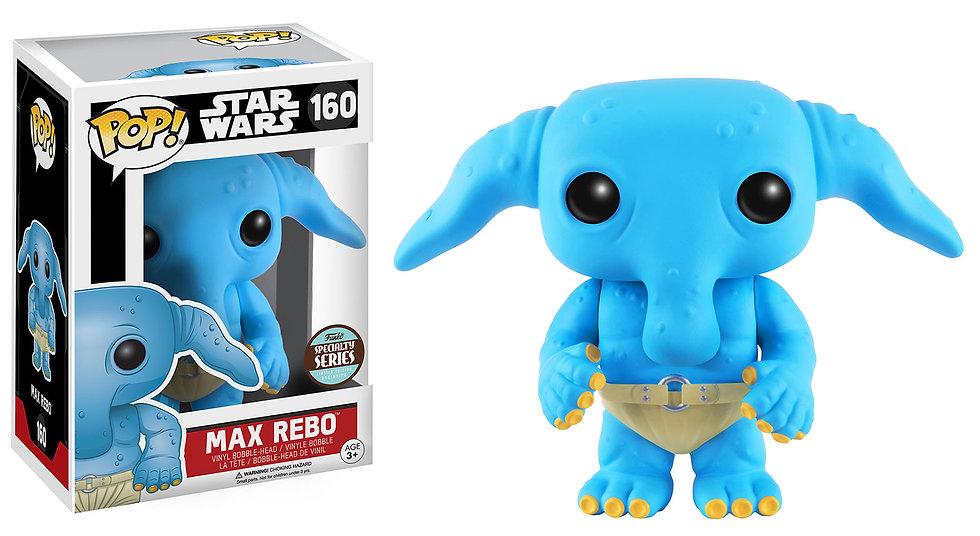 Pop! Star Wars Vinyl Bobble-Head Max Rebo #160 Specialty Series Exclusive