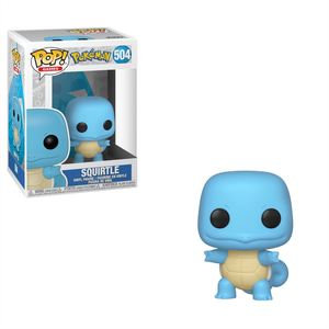 Pop! Games Pokemon Vinyl Figure Squirtle #504