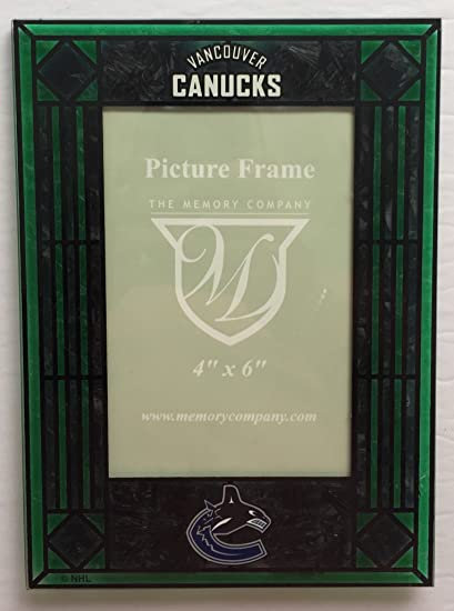 Vancouver Canucks 4x6 NHL Art-Glass Picture Frame