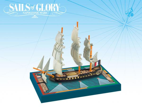 Sails of Glory: French Frigate: Proserpine 1785