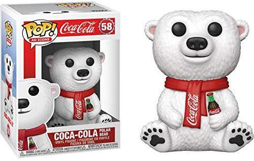 Pop! Ad Icons Coca-Cola Vinyl Figure Coca-Cola Polar Bear #58