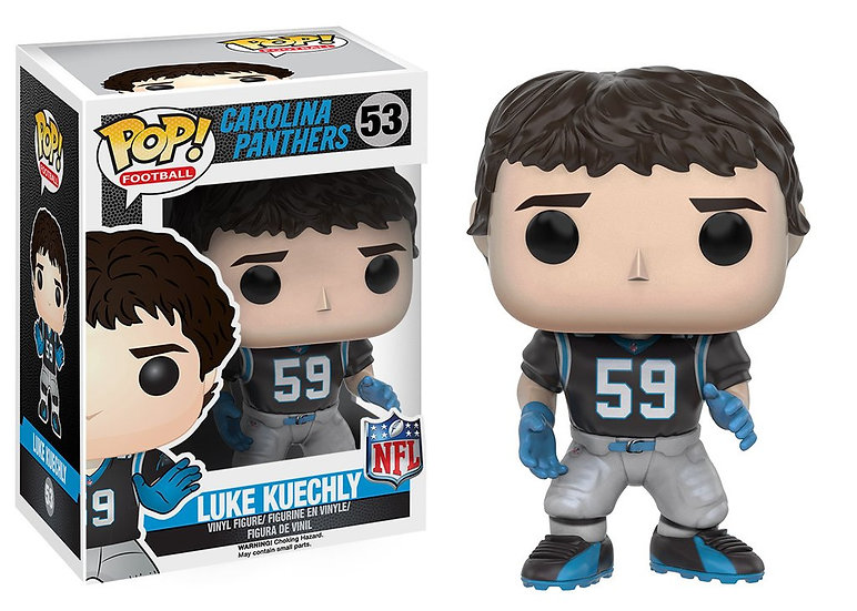 Pop! Football NFL Vinyl Figure Luke Kuechly (Carolina Panthers) #53