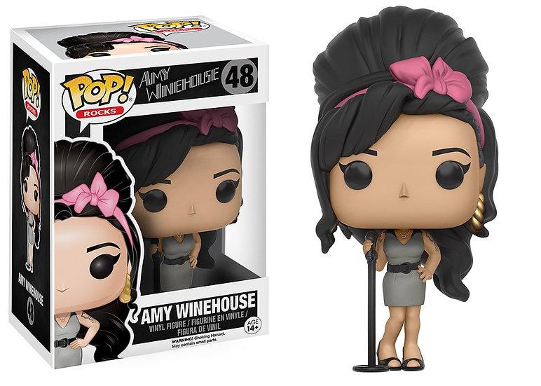 Pop! Rocks Vinyl Figure Amy Winehouse #48