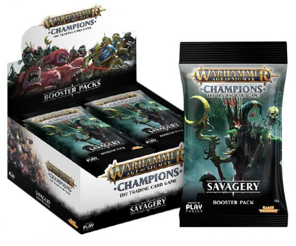 Warhammer Age of Sigmar Champions: Savagery Booster Box