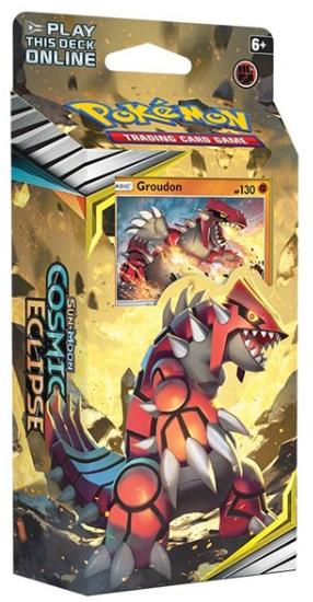 Pokemon TCG: Sun & Moon Cosmic Eclipse Theme Deck - Groudon