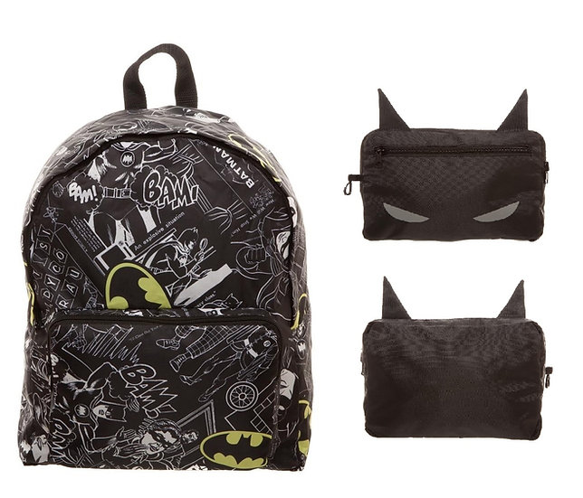 Bioworld DC Batman Packable Backpack