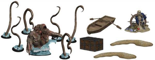 D&D Icons of the Realms: Monster Menagerie 3- Island Kraken Set
